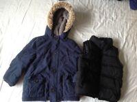 2-3 years jacket and gilet