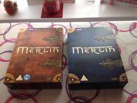 Merlin DVD Set