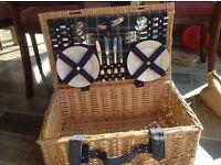 Wicker Picnic Basket storage