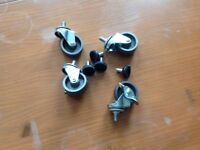 4 new CastorsWheels £2