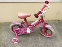 "Pink Sweetie 12"" Kids Bike"