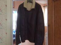 Men's sheepskin jacket size med