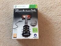 Xbox 360 Rocksmith Guitar and Game including Cable