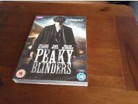 DVD sealed. Peaky Blinders 2 discs