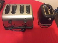 Toasters for Urgent Sale. £10 for both