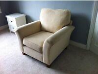 Cream Marks & Spencer Arm Chair