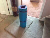 Aerobic/yoga mat