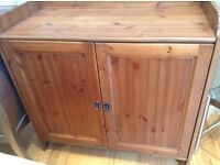 Lovely pine sideboard/changing station