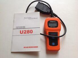 U280 memo scanner vw Audi fault code reader