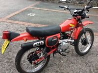 Honda xl 100s