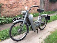 Mobylette super deluxe bike