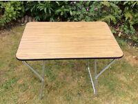 Retro style mini picnic table