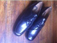 Men s Malvern Black Leather Shoes