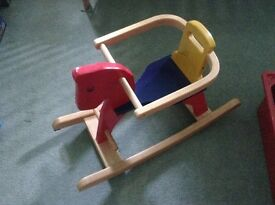 Toddlers Horse Rocker