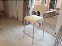 4 Stunning Nearly New John Lewis Montana Bar Stools For Sale