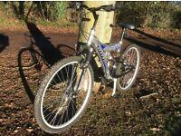 "Bike 26"" wheel size, 17"" frame size"