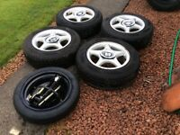 VW/Seat alloys with tyres...