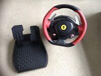 Thrustmaster Ferrari Steering Wheel Xbox One