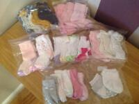 Bundle of girls socks