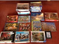Over 20 Jigsaw Puzzles - Mainly 1000 pieces