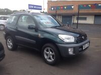 😀 LOW MILEAGE TOYOTA RAV 4 NV 2.0 ONLY 41000 👀👀 2002 1 previous owner FSH 12 stamps MOT MARCH 18