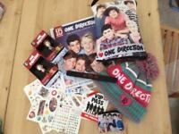 One Direction 1D Collection - DVD, Hat, Annual, Pens, CD, Figures etc
