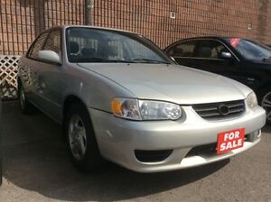 2002 Toyota Corolla LE Sunroof Alloys All Power Opts $GAS SAVER$