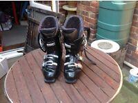 Ski boots salamon