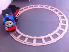 Ride on - Thomas The Tank Engine Train with Track