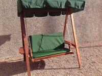 Hardwood 3 Seater Garden Swing for Sale