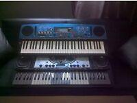 Yamaha 2 dJX Keyboards