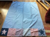 Next Stars and Stripes kids/nursery blackout curtains and bunting