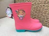 Brand New Girls Wellington Boots size 10 Everythings Rosie