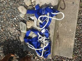Two unused safety harness