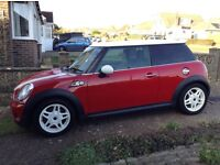Mini Cooper s 2007 red 1.6 chilli pack full service history low mileage