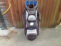 Motocaddy S3 cart bag, nice condition, bargain 👍
