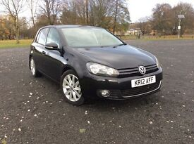 Golf mk6 2.0 gt 5 door year 2012 ,full black leather front heated seats