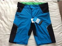 Brand new Shimano Explorer mountain bike cycling shorts rrp £70 now £25