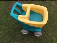 Little tikes chunky trolley