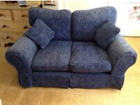 Two seater sofa with washable loose covers