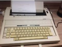 Brother AX15 electric typewriter.