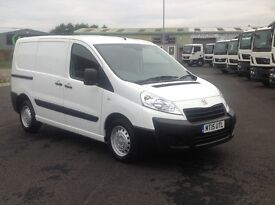 2015 PEUGEOT EXPERT HDI PROFESSIONAL. 3 SEATS. TWIN SLIDING DOORS. FULL SPEC AND LOW MILEAGE.
