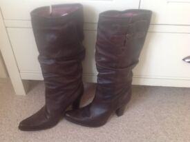 Ladies Leather Boots size 7