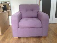 Armchair (Lilac)