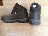 Unworn Ladies Hi-Tec Waterproof Walking Boots, size 7