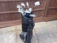 Golf Clubs and Bag - minimal use