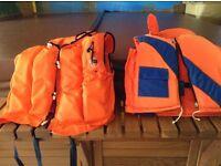 Life jackets x2