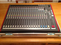 Allen & Heath ZED-22FX - 22 Channel USB Mixing Desk With FX. (Includes Flightcase)
