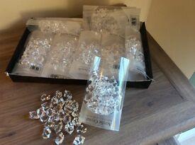 Table diamond jewel decorations