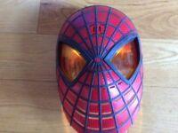 Spiderman mask plus dress up / costume 5-6 yrs